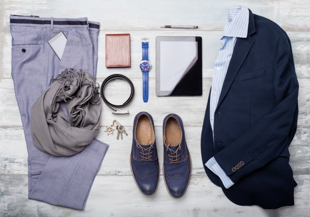 Set of mans fashion and accessories